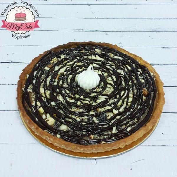 MajCake - tarta z solonym karmele, bakaliami i czekoladą