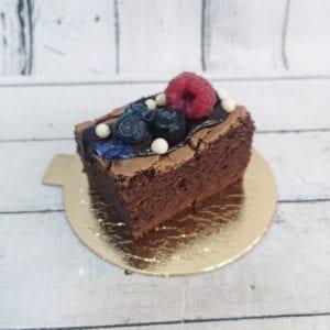 Sklep MajCake - porcje brownie